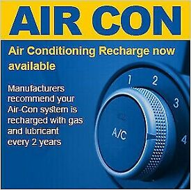 Car Aircon Re Gas, van air conditioning £45 special offer