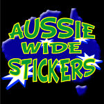 Aussie Wide Stickers