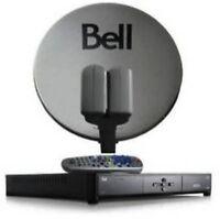 Installation satellite bell / shaw direct/xplornet