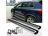 WANTED RUNNING BOARDS SIDE STEPS 2017 NEW VW TIGUAN VOLKSWAGEN