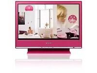 Sony pink tv