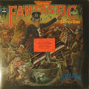 Elton John Captain Fantastic Lp Ebay