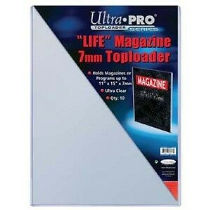 "Ultra Pro THICK top loaders ... for LIFE magzine size .. 11""x15"""