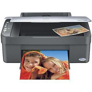 Mint Epson CX3810 Color Inkjet Printer 18ppm,All-in-One,warranty
