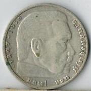 2 Reichsmark Hindenburg