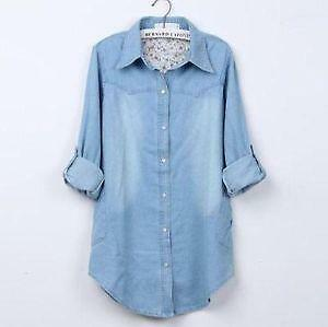 Womens Denim Shirt | eBay