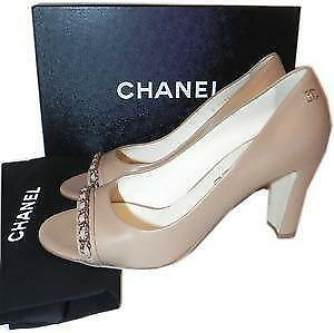 fbb873f5acd0 Chanel Chain Shoes
