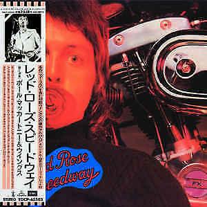 Paul McCartney and Wings - Red Rose Speedway  (CD Japan)