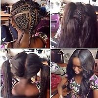 PROFESSIONAL WEAVES DONE IN YOUR HOME