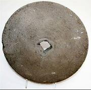 Antique Grinding Wheel