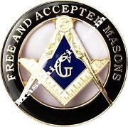 Masonic Car Emblem