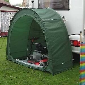 Mobility Scooter storage tent.