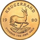 South African Krugerrand Gold Bullion Coins