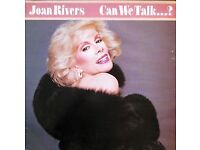Joan Rivers - Can We Talk...? Vinyl Record - Excellent Condition