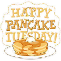 Join us for Free Pancakes on Shrove Tuesday/Pancake Tuesday!