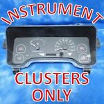 Instrument Clusters Only