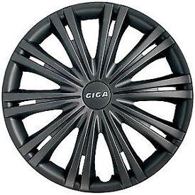 "13"" wheel trims brand new dark grey RRP £24.99"