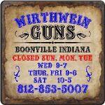 Wirthwein Guns Boonville Indiana
