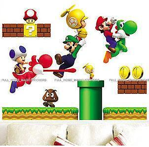 Super Mario Wall Stickers Part 40