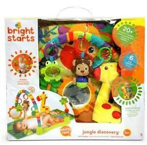 NEW in Box Bright Starts Jungle Discovery Activity Gym with Mat