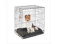 Pets at Home SIngle Door Small Dog Crate - 53 x 77 x 49cm - As new, in box, used once
