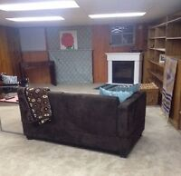 1 person everything included, furnished, towels, tv, wifi