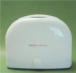 Never Used Maytag MLI7000AAW Cordless Iron in Case