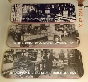 Old Drug Store B&W Photos