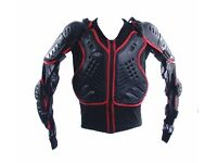 Rk Sports Adult Motorcross Armored Body Armour Motorcycle Was £89.99