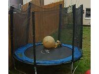 10ft trampoline abd net
