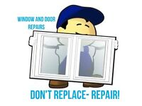Replace-a-pane windows and door repair service