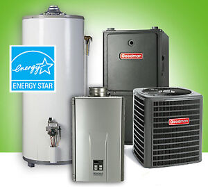 Furnace - Water Heater - Air Conditioner - Rent to Own - Call