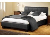 MEGA SALE NOW ON LEATHER BED & FREE MATTRESS