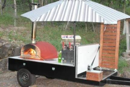 DIY Wood fired Pizza Oven Trailer Hire-Various Combos-party hire