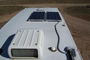 2 x 100 W solar system for RV or trailer - Approx. 800 savings