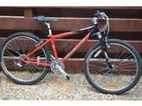 Specialized Hardrock Womens 15 inch frame Mountain Bike vgc 100 Pounds ono