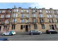 Traditional 1 bedroom un furnished second floor flat on Springburn Road North side