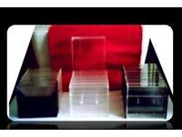 EMPTY PLASTIC CASSETTE TAPE CASES - (18) - FOR SALE