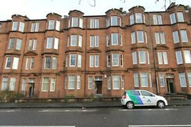 Traditional 1 bedroom first floor part furnished flat on Wellshot Road, Tollcross East end