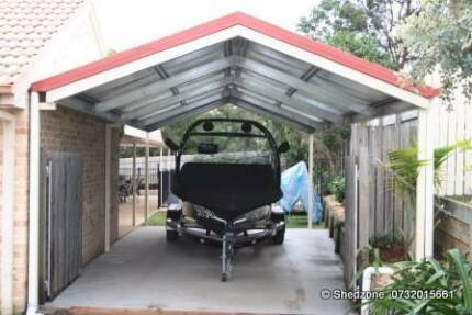 6M X 6M GABLE CARPORT GREAT PRICE $3150