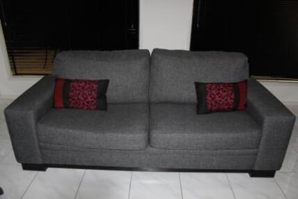 Grey lounge - 3 seater and 2.5 seater McLaren Vale Morphett Vale Area Preview