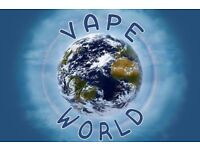 Full Time Shop Assistant, Urgently Required, Vape World, E-Liquid, E-Cig, sales assistant