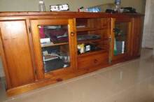 TV unit made from hardwood Liverpool Liverpool Area Preview