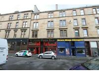 Traditional 1 bedroom first floor furnished flat on Blackie Street Glasgow Westend
