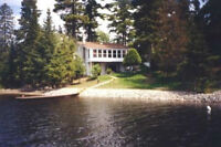 Beautiful Fully Furnished Waterfront Home/Cottage