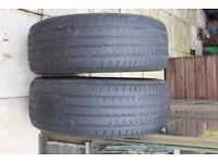 Car tyres part worn