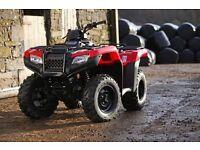 Honda Quads wanted