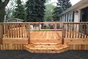 NOT TO LATE FOR YOUR DREAM FENCE, DECK OR PERGOLA. Cambridge Kitchener Area image 1