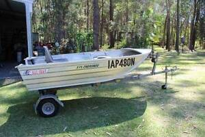 Tinnie , Outboard,Trailer and Loader Medowie Port Stephens Area Preview