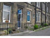 Delightful, one bedroom, ground floor, furnished Victorian flat on Granton Road